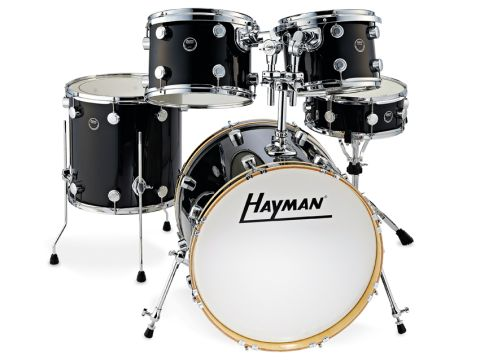 New Haymans have typical modern straight-sided shells made from eight plies of poplar