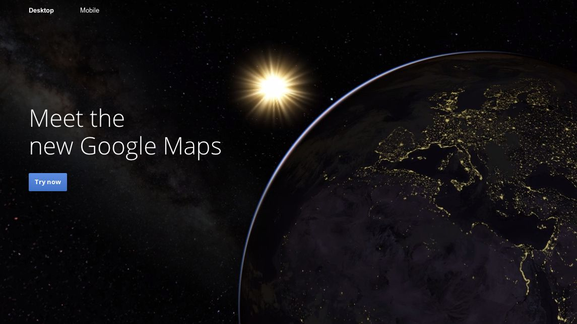 New Google Maps beta now an open buffet just for you