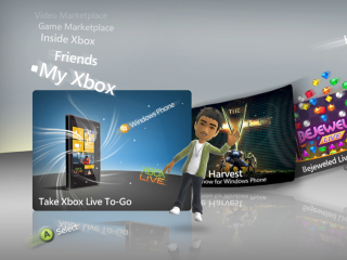 Xbox - a showcase for Windows Phone 7