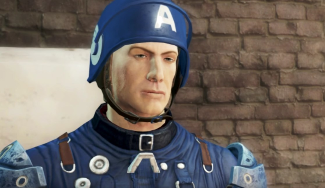The Captain America: Civil War trailer redone in Fallout 4 is a thing of beauty