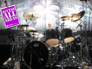 Slipknot's drum tech Ronnie Lee Hise Jr