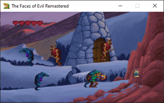 An image from a remastered version of 1993 CD-i game Link: The Faces of Evil