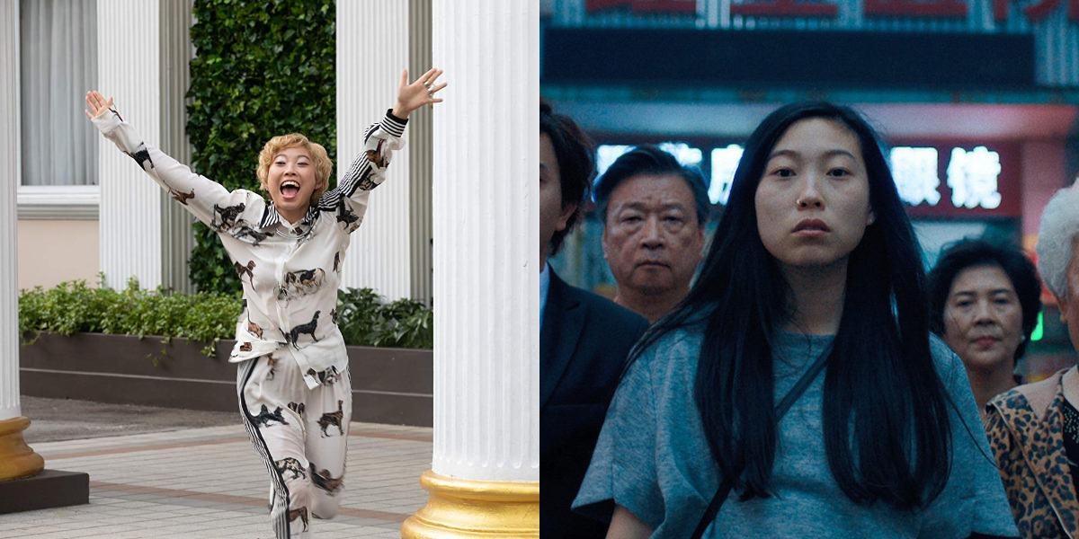 Awkwafina in Crazy Rich Asians and The Farewell