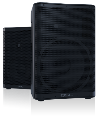 QSC Introduces CP Series Powered Loudspeakers