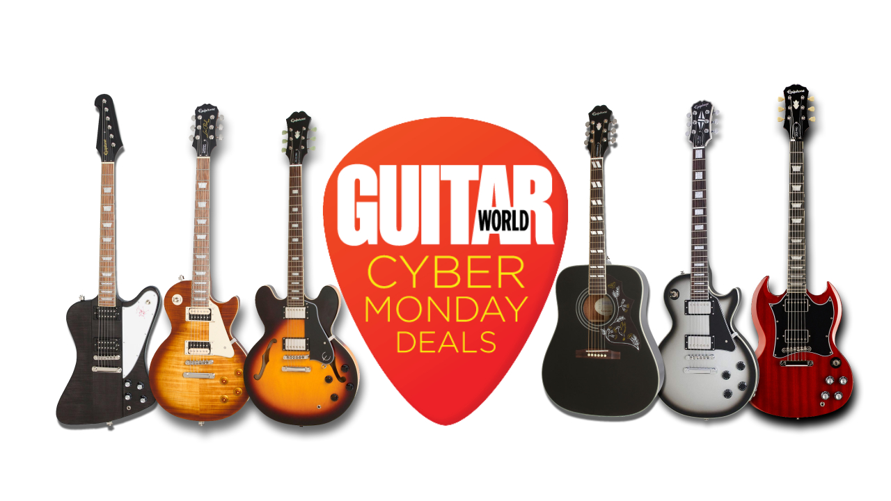 Save Big With The Best Epiphone Guitar Deals This Cyber Monday Guitar World