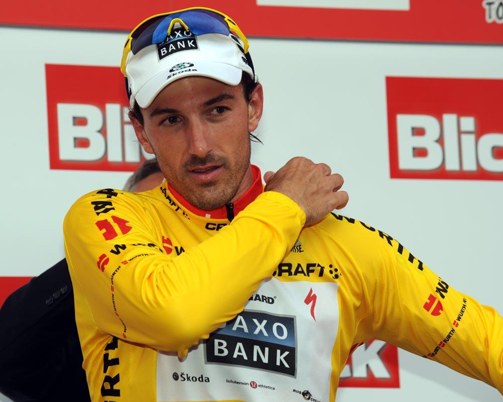 Fabian Cancellara, Tour de Suisse 2010, stage 2