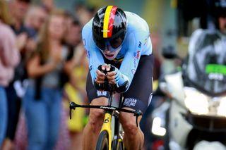 2021 UCI Road World Championships Flanders - Men's Elite Time Trial Knokke Heist - Bruges 43,3 km - 19/09/2021 - Wout Van Aert (Belgium) - photo Davy Rietbergen/CV/BettiniPhoto©2021