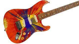 12-string Fender Splattercaster