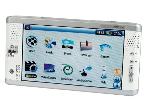 Drivers: Archos Portable Digital Video Player AV700