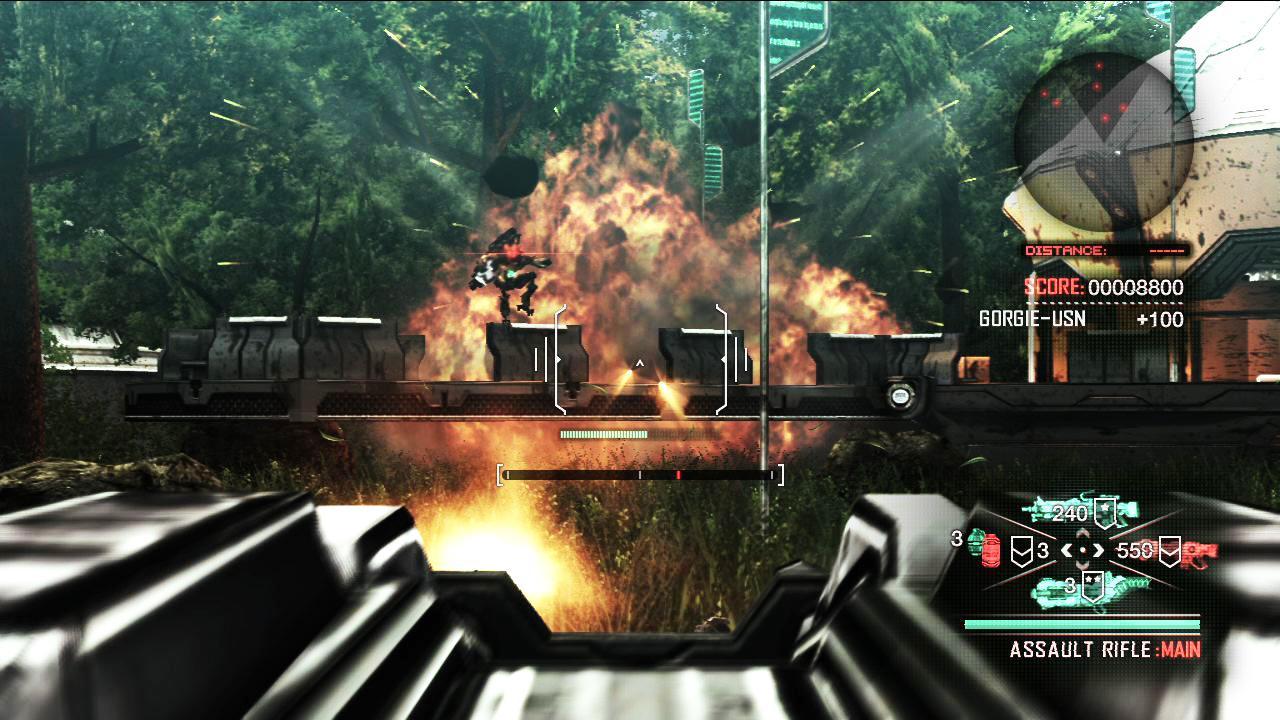 Vanquish Super Review Gamesradar Thrill Elite