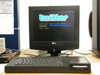 10 - install Twitter for ZX Spectrum... 20 - Make a tweet!
