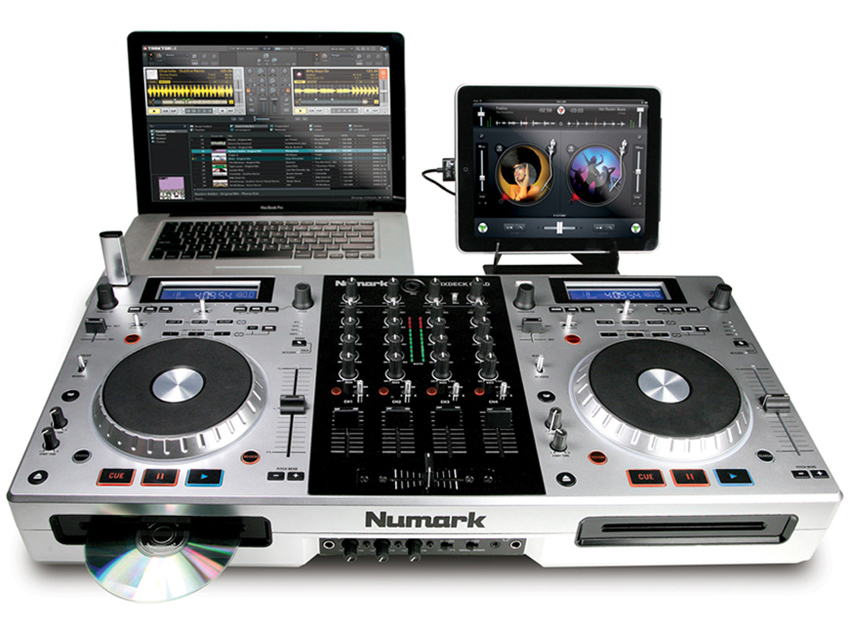 Musikmesse 2011 Numark Debuts Mixdeck Quad With Ipad Support