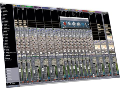 The Mixbus is Harrison's attempt to bring their expertise to the software market.