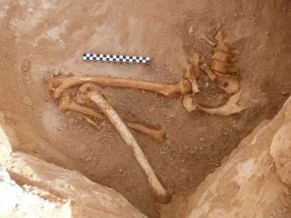 pregnant woman's burial