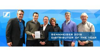 Sennheiser Names TMP-Pro Distributor of the Year
