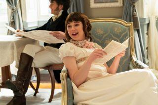 Eloise Bridgerton in Season 1 of Bridgerton.