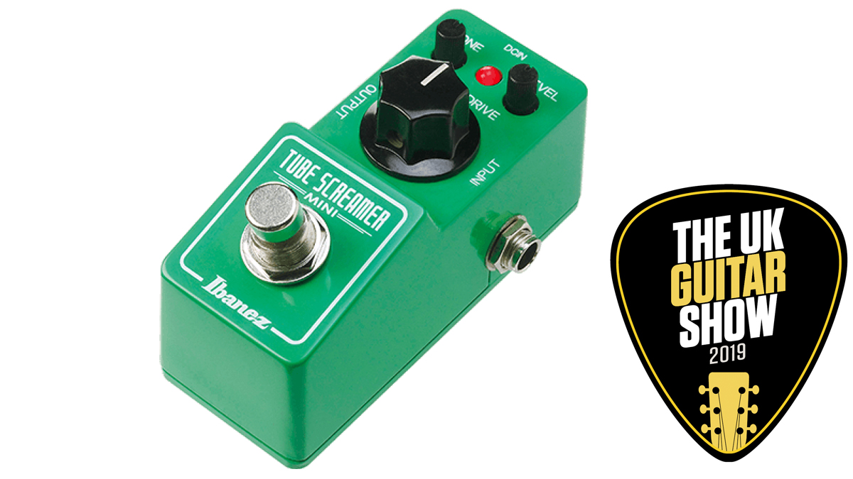 Ibanez is giving away 3 Tube Screamer Minis and tickets to the UK Guitar Show! | MusicRadar