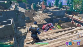 How to build in Tilted Town in Fortnite