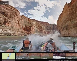 colorado river view rafting