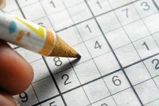 A sudoku puzzle