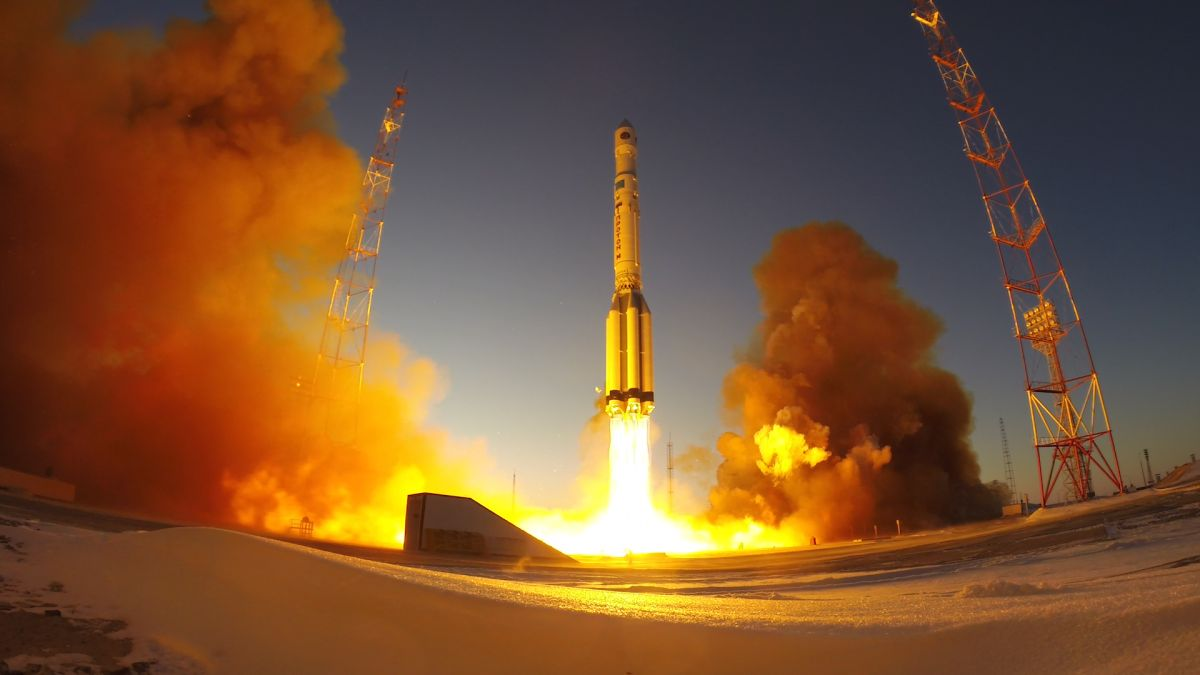 Russian Proton Rocket Sends Satellite Into Orbit in Christmas Eve Launch - Space.com