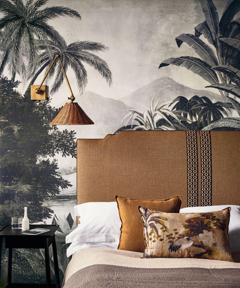 Bedroom wallpaper trends 6