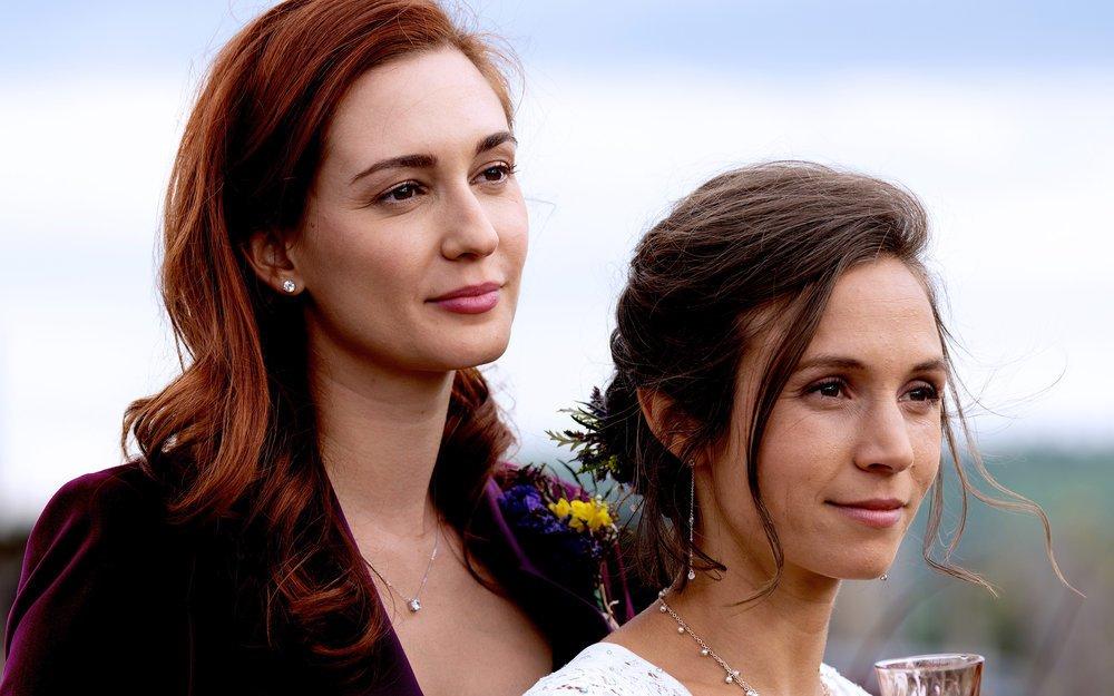 wynonna earp series finale nicole waverly wedding wayhaught syfy