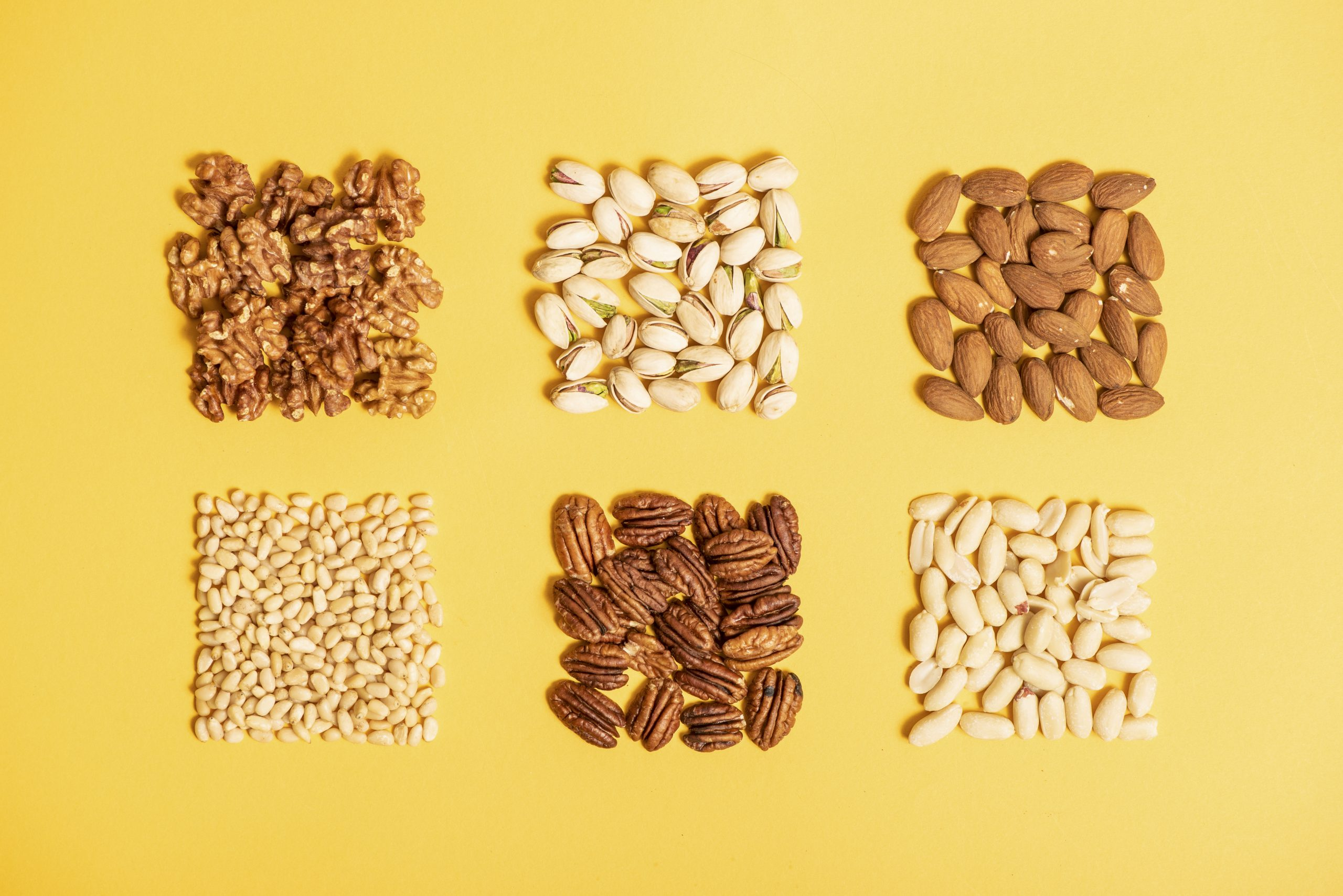 Eating nuts could bring a host of health benefits