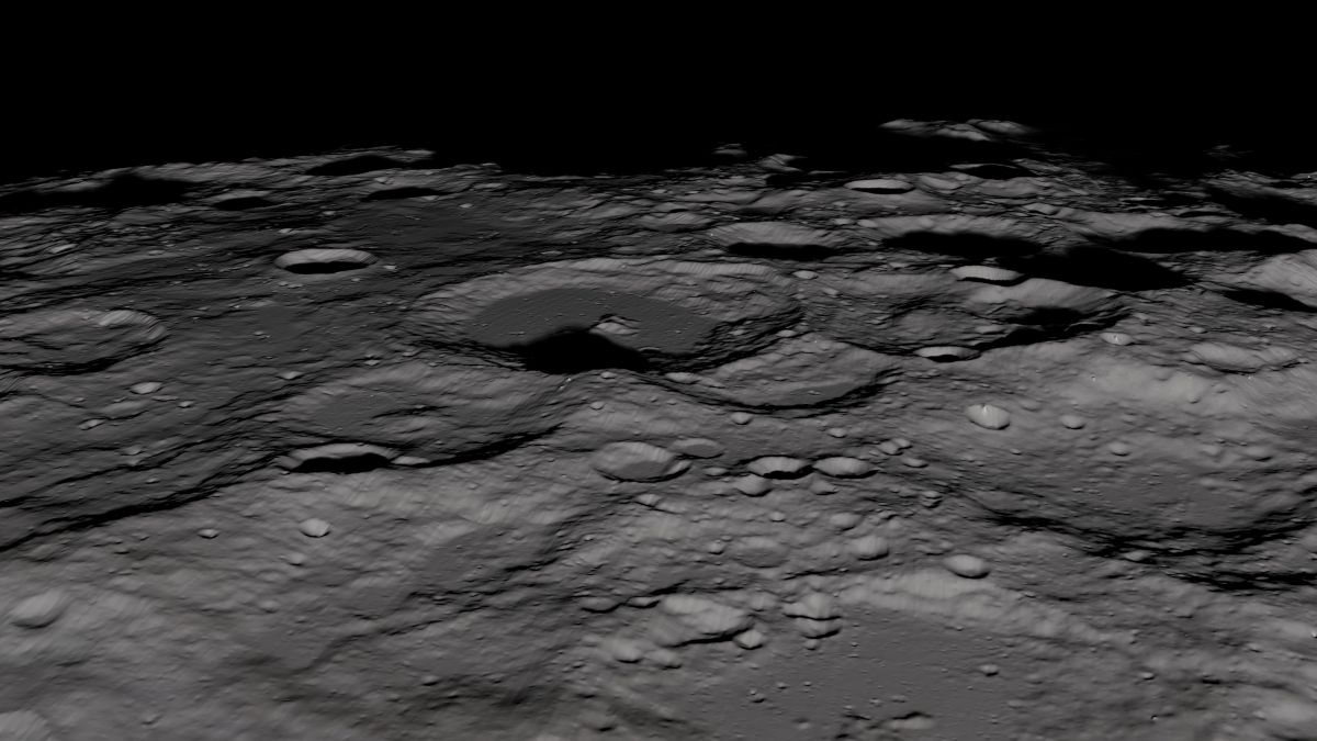 'Young' Ice at the Moon's South Pole Surprises Researchers