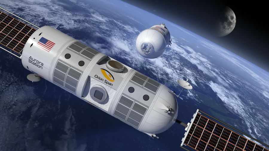 Are orbiting hotels the next step for space tourism?