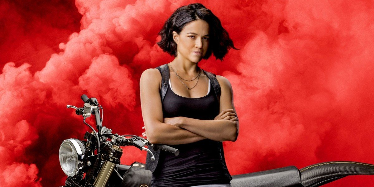 Michelle Rodriguez as Letty Ortiz for F9 (2021)