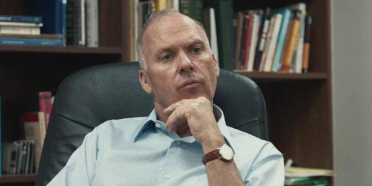 Dopesick actor Michael Keaton in Spotlight