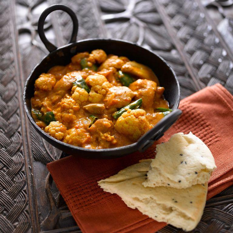 Cauliflower and Chicken Curry photo