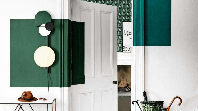 Rule of three design tips, natural color scheme