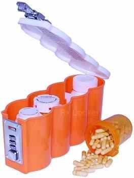 prescription locker, medicine security