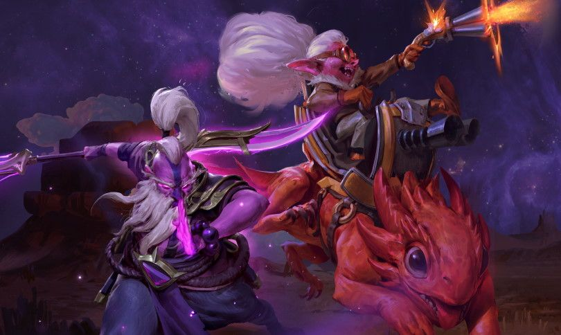 Dota 2's big Outlanders Update goes live with new heroes and dramatically changed gameplay