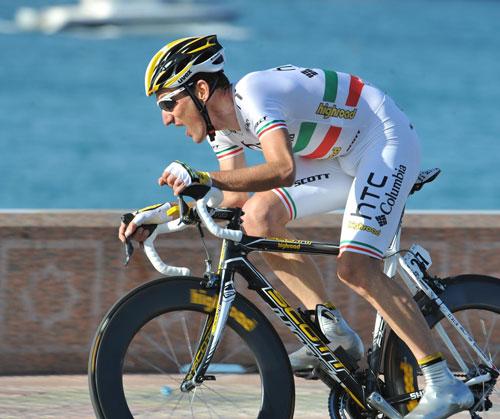 Marco Pinotti, Tour of Oman 2010, stage 6 ITT
