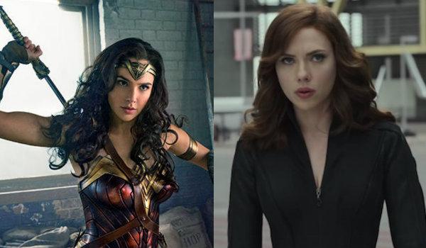 Wonder Woman Gal Gadot Black Widow Scarlett Johansson