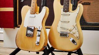 Historic hardware: Fender's blonde electric guitars | MusicRadar