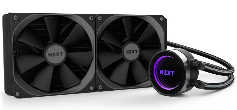 CPU Cooler: NZXT Kraken X62