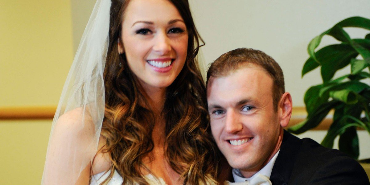 Jamie Otis and Doug Hehner in Married At First Sight