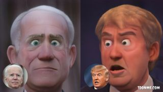 Toon Trump and Biden! Face-editing app goes viral with Disney-style filters