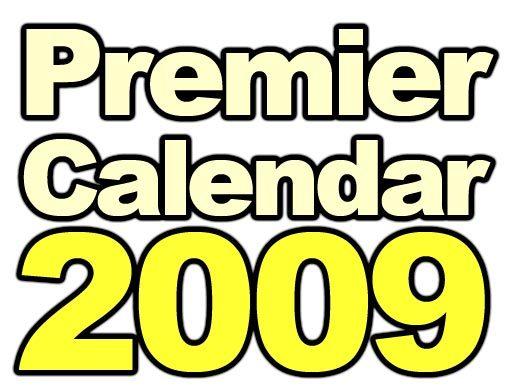 Premier Calendar 2009 logo