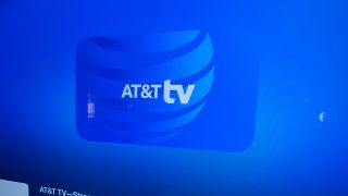 The AT&T TV app on Apple TV