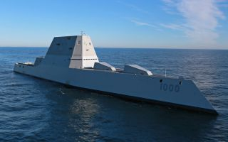 The USS Zumwalt.