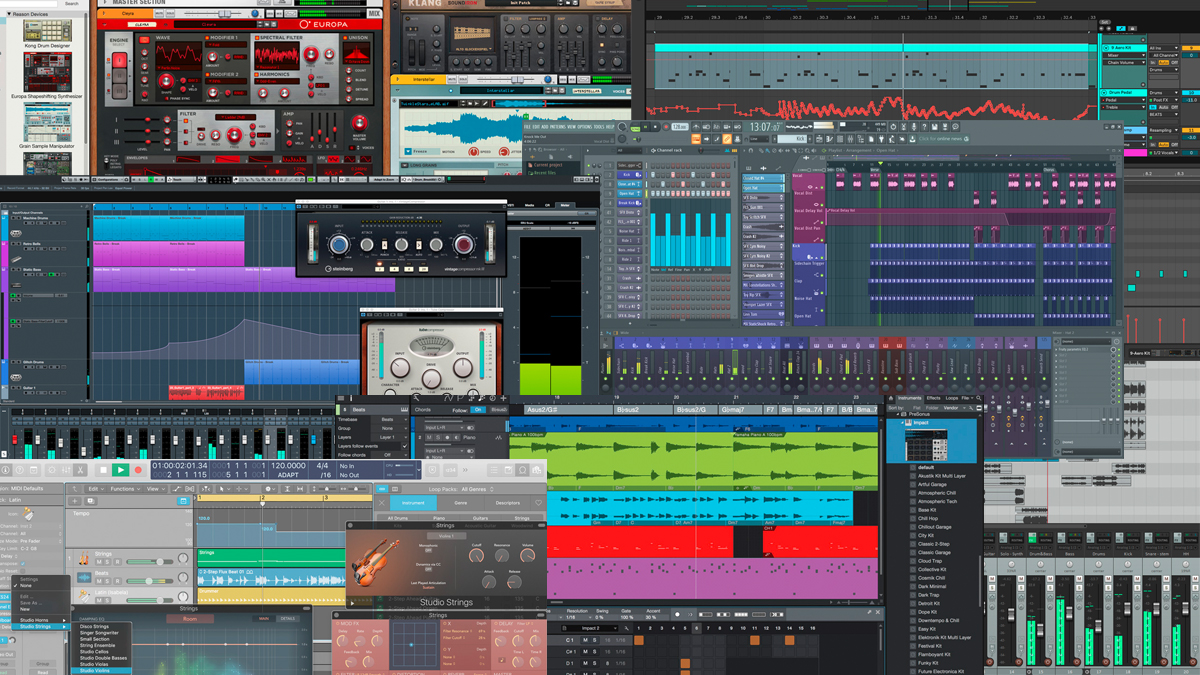 The best DAWs: the best music production software for PC and