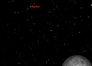 Jupiter and Full Moon