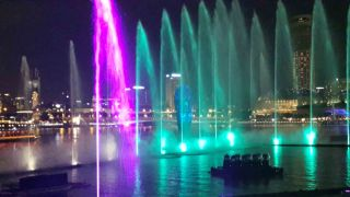 Marina Bay Sands Water Show Uses Tempest