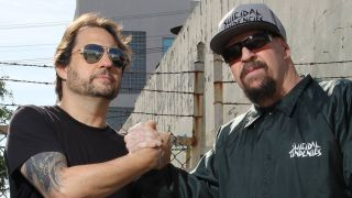 Dave Lombardo and Mike Muir