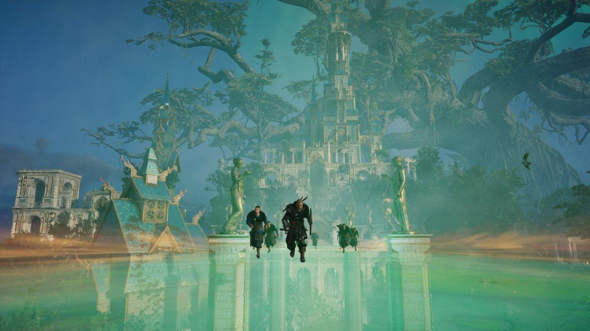 Die nächste Erweiterung von Assassin's Creed Valhalla könnte sich an God of War: Ragnarok orientieren